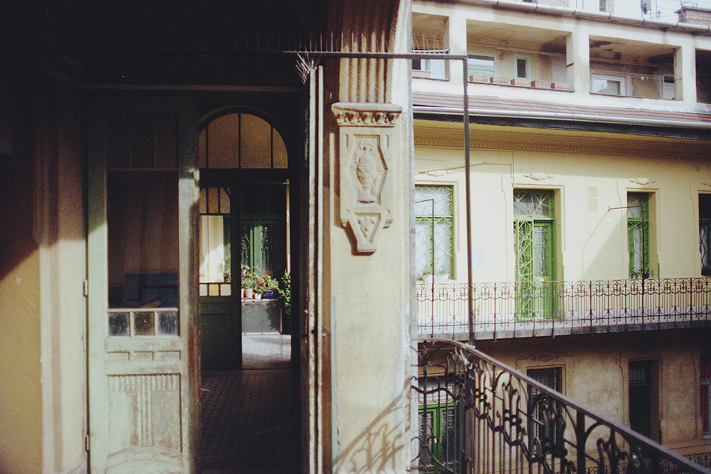 100year old house budapest