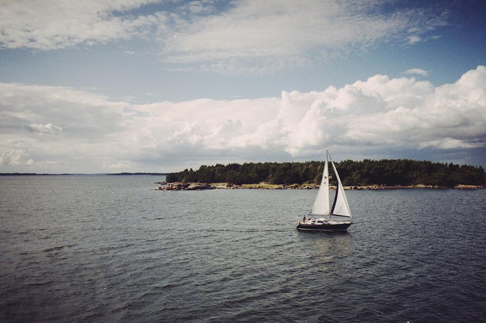 wyspy alandzkie żaglówka