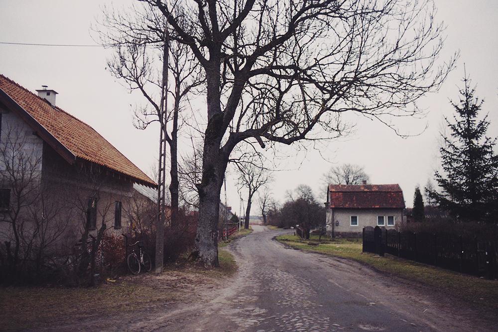 włodowo domy ścieżka