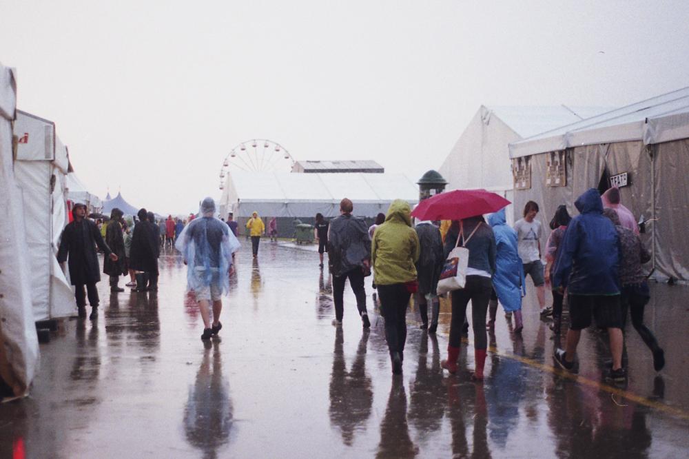 opener festival poland rain
