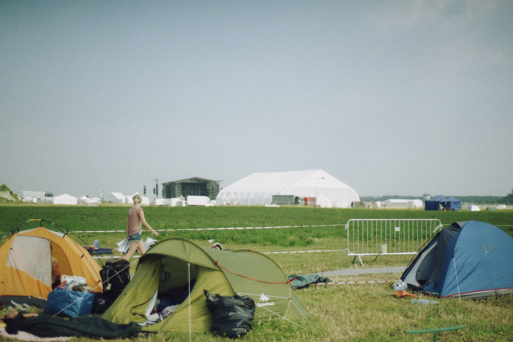 opener festival poland campsite