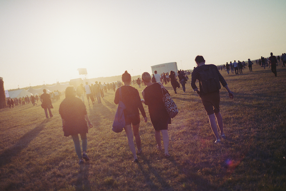 opener festival poland sunset