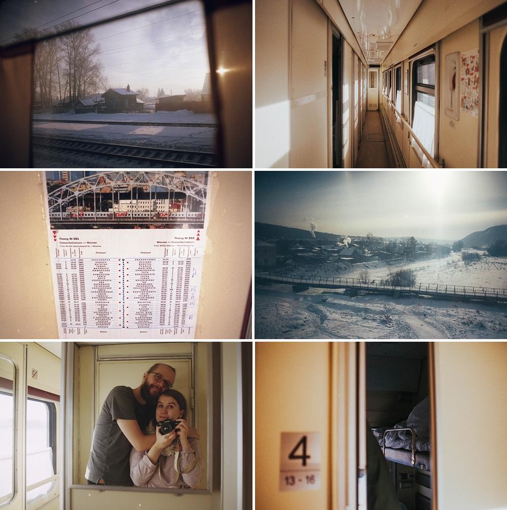 kolej transsyberyjska transsib transsiberian train winter pociągiem do japonii