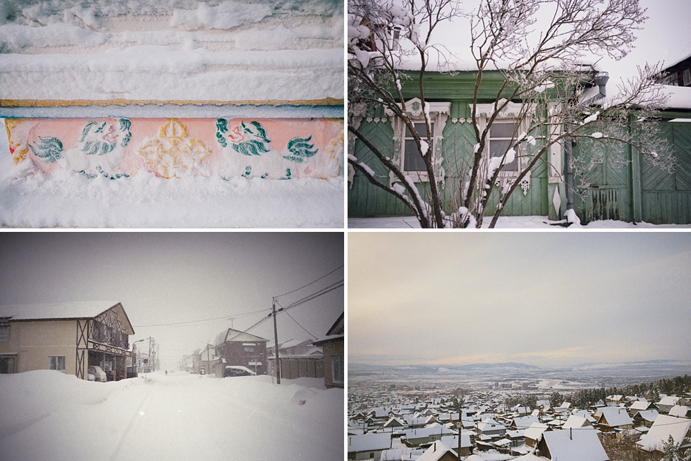 winter russia syberia analog photography