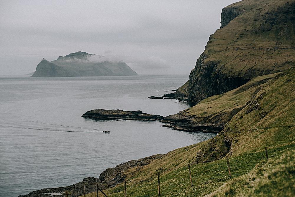 wyspy owcze vagar widok na mykines rib